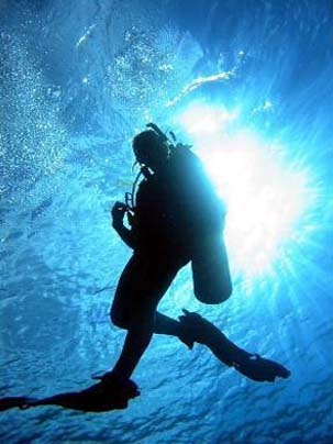 Training in diving