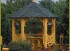Купить Альтанка восьмиугольная в Украине купить
