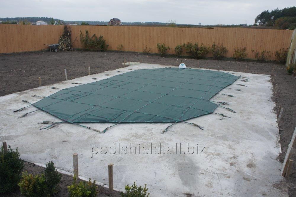 The protective cover on the pool Shield