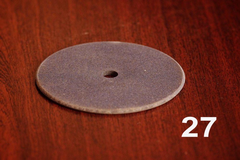 Шлифкруг ПП 100*4*10 АNKS F100СМ1 К (заточка цепных пил)