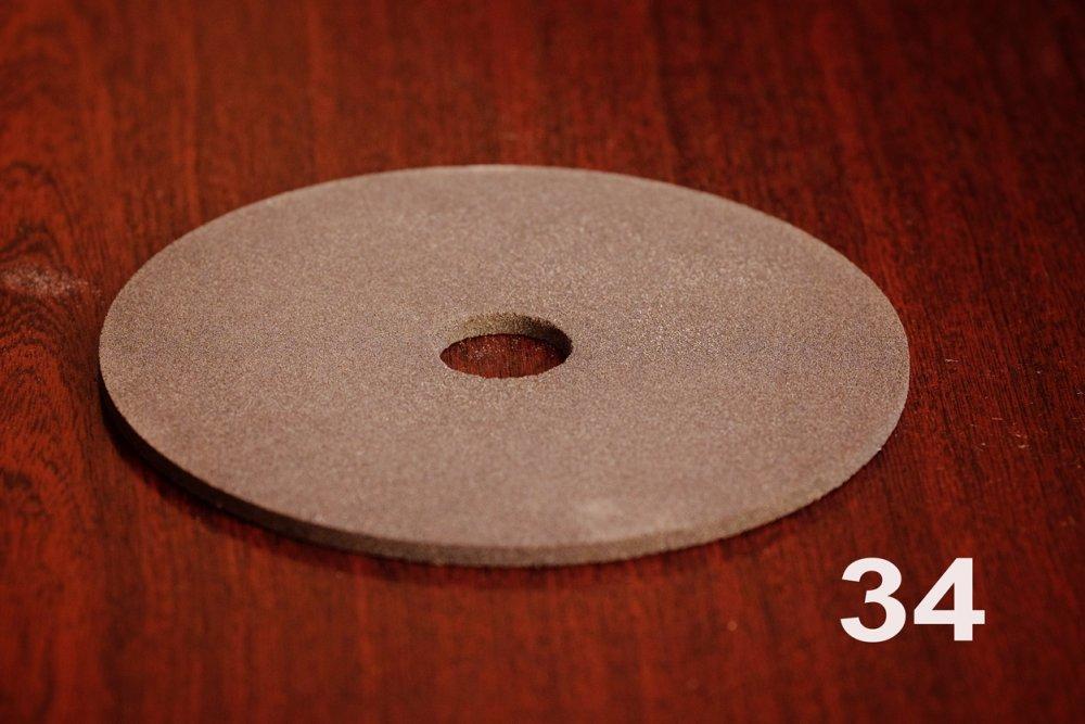 Круг заточной для пил ПП 140х4х22 F60