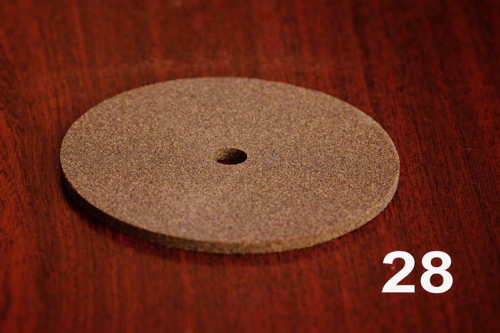 Круг диск для заточки пил ПП 100х4х10 F60
