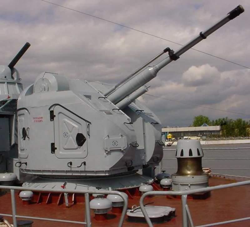 76,2-мм корабельный артиллерийский комплекс АК-176М-МР-123-02