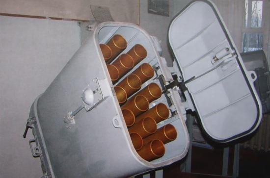 82-мм корабельный комплекс выстреливаемых помех ПК-16