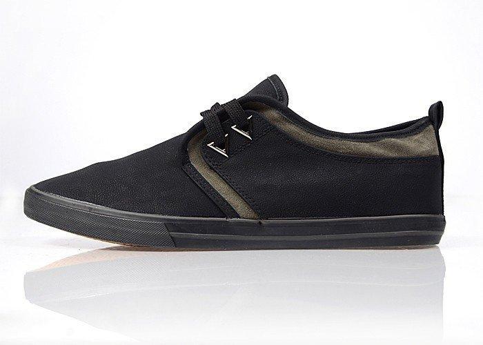 "Shoes man's daily Casual Style TM ""BIKKE"" DM-130-BLACK"