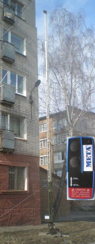 Мачта телескопическая МТ-12.