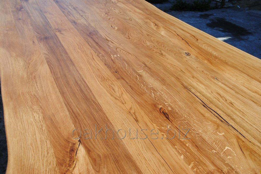 Buy Oak tabletops for tables all sizes, 40-60 mm thickness