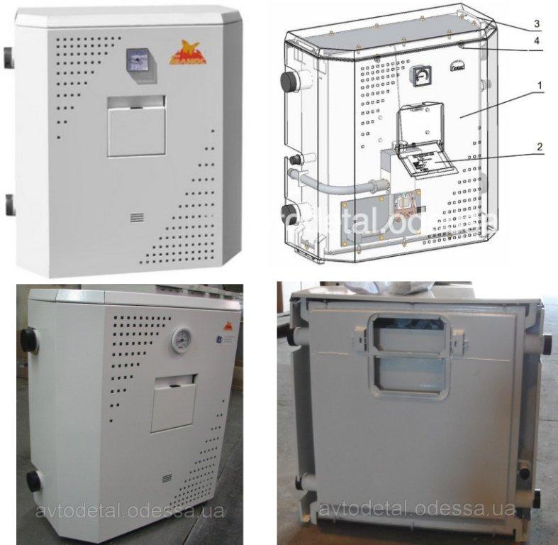Газовый котел АКГВ-10M натуральный/сжиженный газ 10 КВт