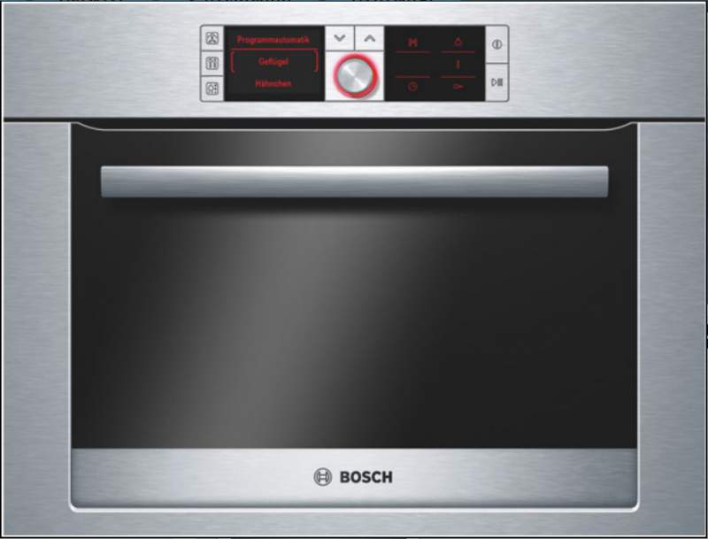 Buy Compact oven with function of preparation on HBC36D753 steam