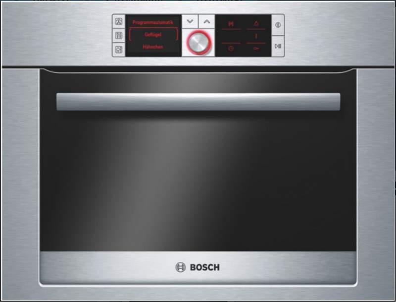 Купить Компактный духовой шкаф с функцией приготовления на пару HBC36D753