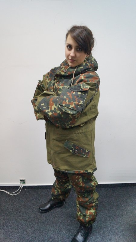 "Buy Mountain summer wind-shelter suit of new army coloring to ""animated cartoons"", camouflage"