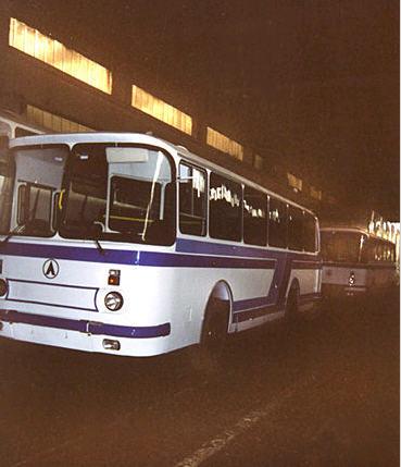 Автобус пассажирский  дизельный ЛАЗ-695Т