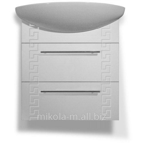 Купить Комплект мебели для ванной «Греция»с подвесной тумбой