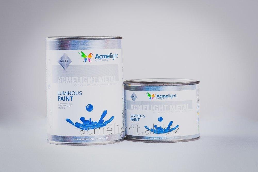 Buy AcmeLight Concrete - the self-shining paint for concrete surfaces is created on a polyurethane basis