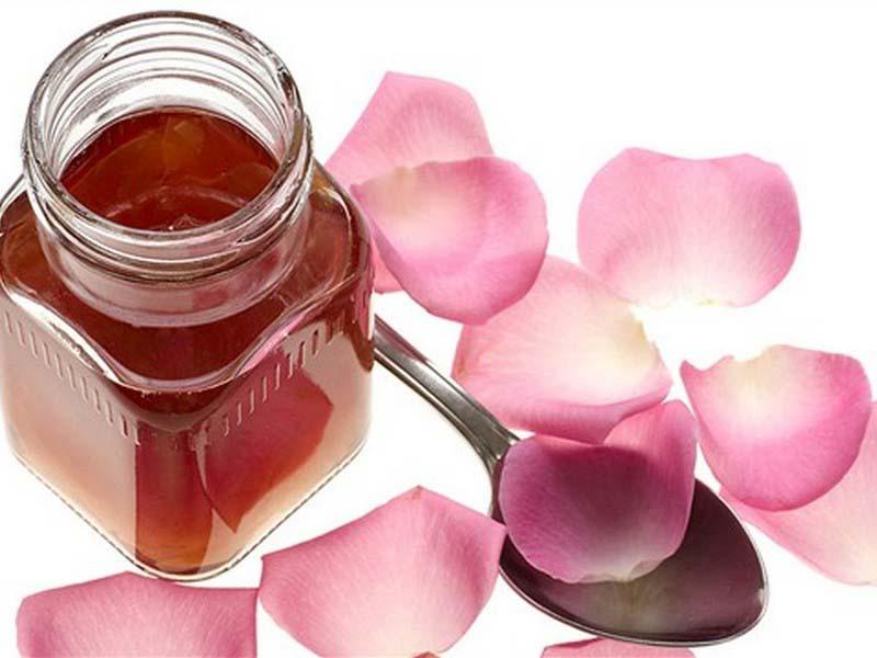 Купить Сироп из лепестков чайной розы натуральный
