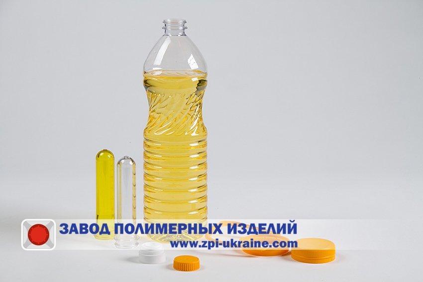 """Купить Бутылки ПЭТ для масла подсолнечного """" Злата"""" 0.5 -0.9- 1 литр."""