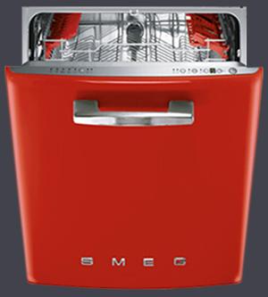 Машины посудомоечные встраиваемые, посудомоечные машины Smeg