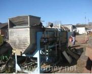 Флотационно-моечная машина для  переработки зеленого горошка