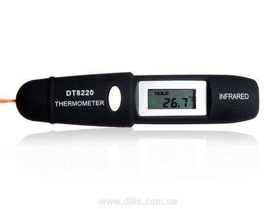 Пирометр инфракрасный DT8220 (-50...+220 С)