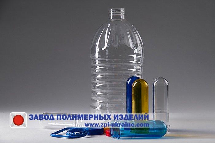 Купить Бутылка ПЭТ 5 литров «Кристал»