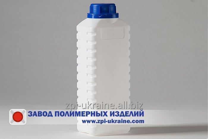 Buy Bottle for chemistry rectangular K-01, PE