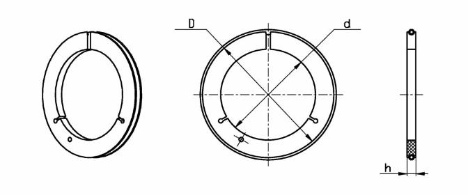 Купить Замыкающее кольцо тип 1-8