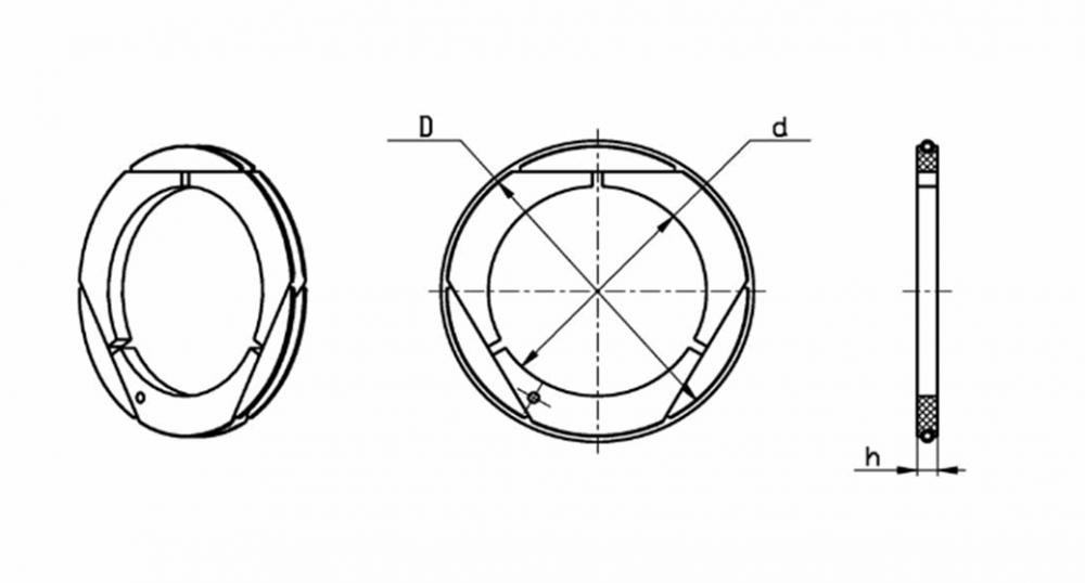 Купить Кольцо уплотняющее тип 2-7