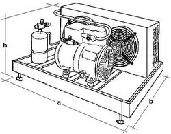 Buy Refrigerating units, Compressor and condenser units