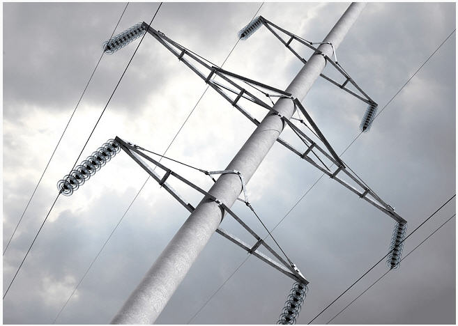 Опоры линий электропередач (ЖБИ)
