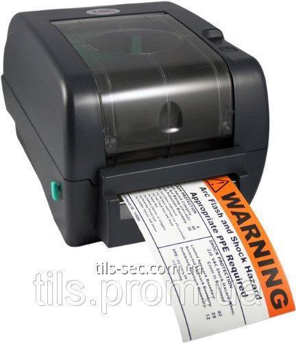 Настольный термопринтер этикеток и штрих-кодов tsc ttp 345