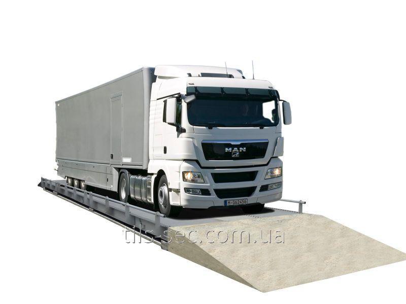 Электронные весы для взвешивания автомобилей до 60 т УВК-А18СН60 18м