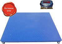Платформенные электронные весы УВК-П1515 до 5 тон