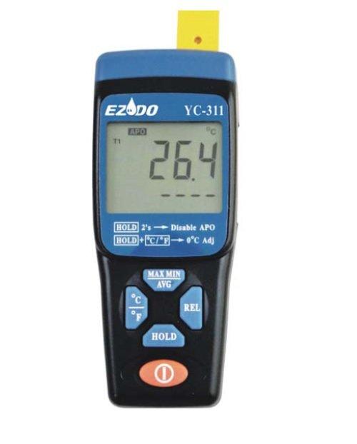 Цифровой термометр с термопарой К-типа Ezodo YC-311