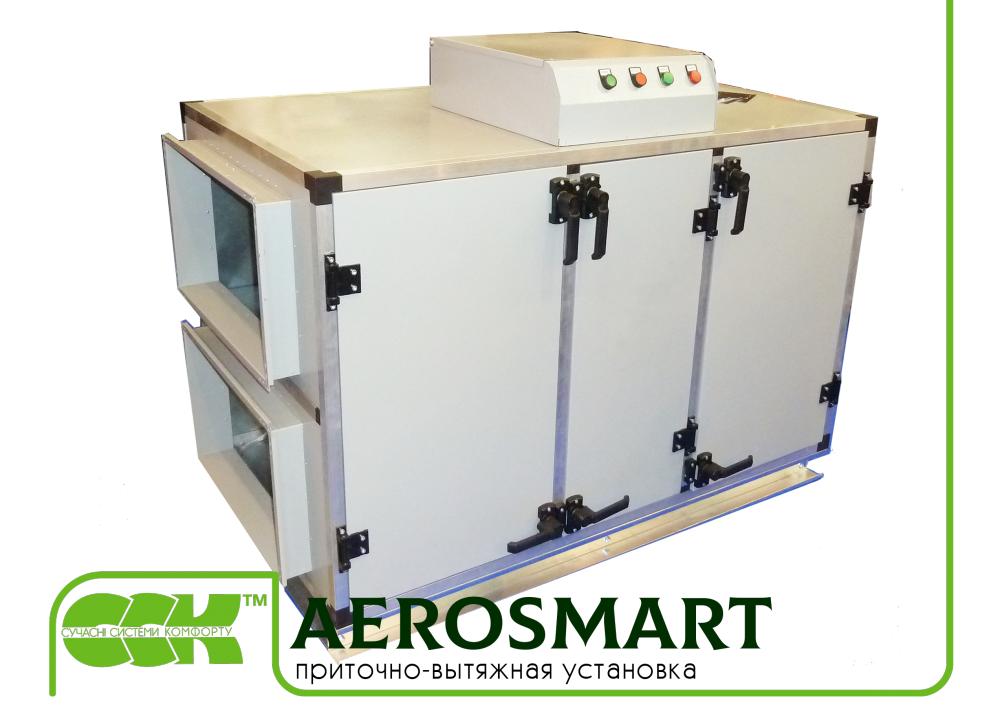 Приточно-вытяжная установка AeroSmart. Установки для кондиционирования воздуха