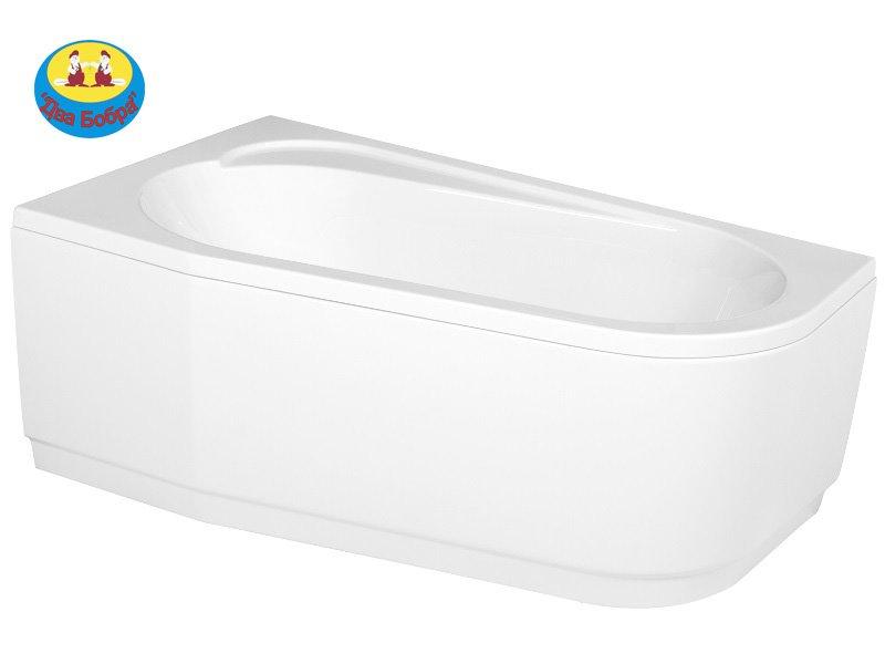 Купить Ванна акриловая асиметрична(асимметричная) ARIZA 140 X 85,150Х90,160Х90 ліва,права з кріпленням(без панели)