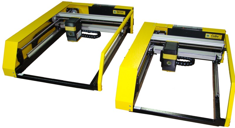 Impact engraving machines «Cube» and  «Sprint»