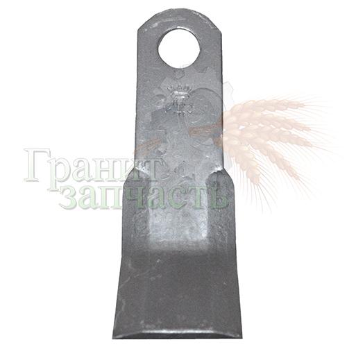 Нож мульчирователя Y-подобный 204х60х10, d=25.5, J2555004,CTX50210