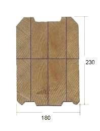 Купить Брус профилированый для деревянных домов свежепиленный