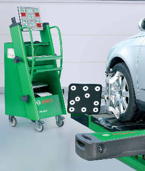 Buy Stands of a rozval-convergence of wheels, stands of adjustment of a tilt angle of wheels.