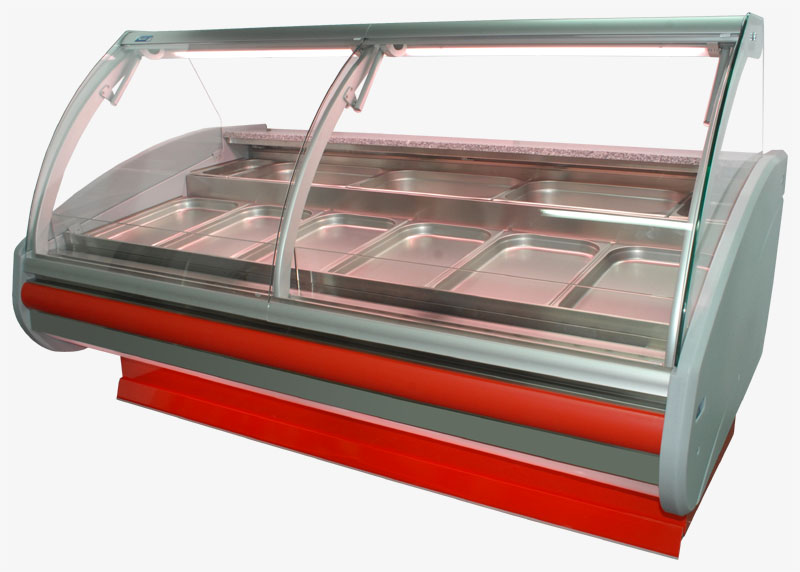 Buy Novelty!!! A refrigerating show-window of Cold W-PVP-k-30 in a warehouse