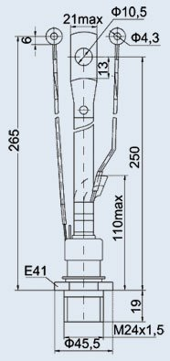 Тиристор ТЛ271-320-10