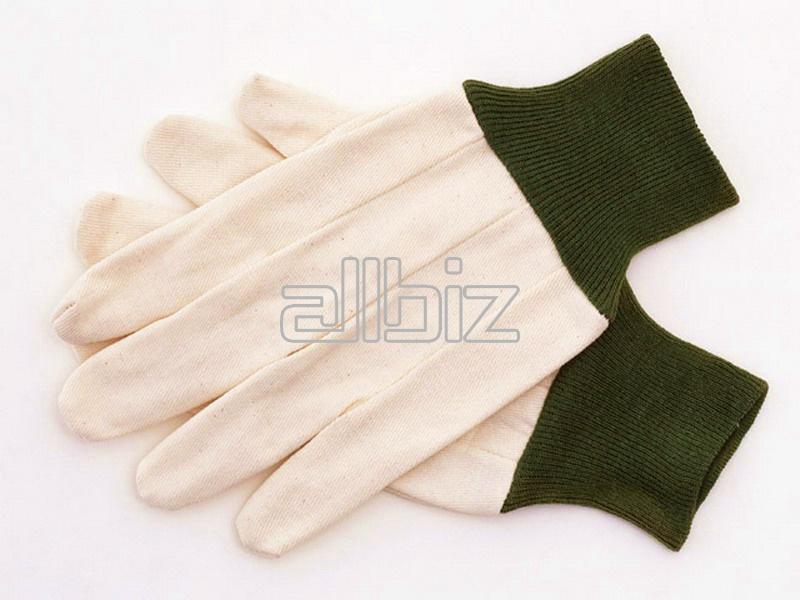 Перчатки трикотаж, перчатки брезент, перчатки латекс