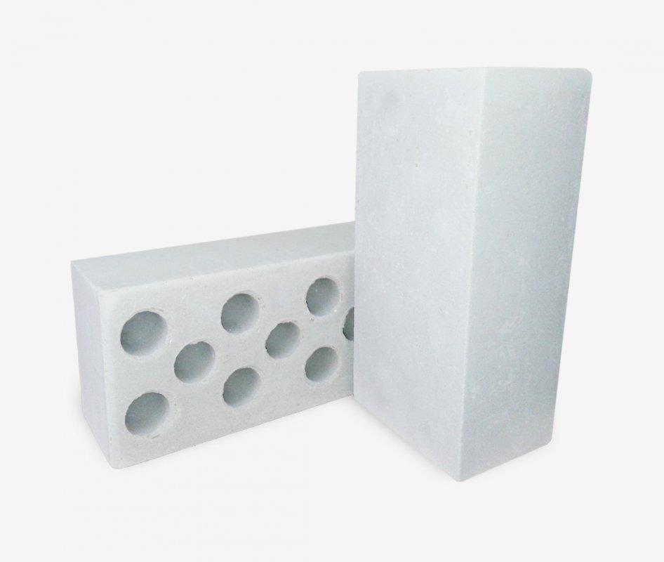 белый полуторный силикатный кирпич