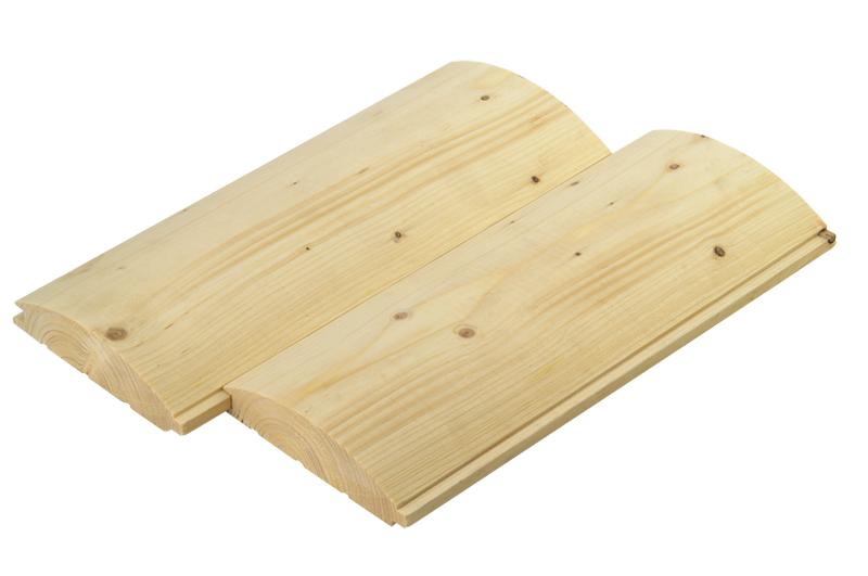 Блокхауз для наружной и внутренней отделки дома