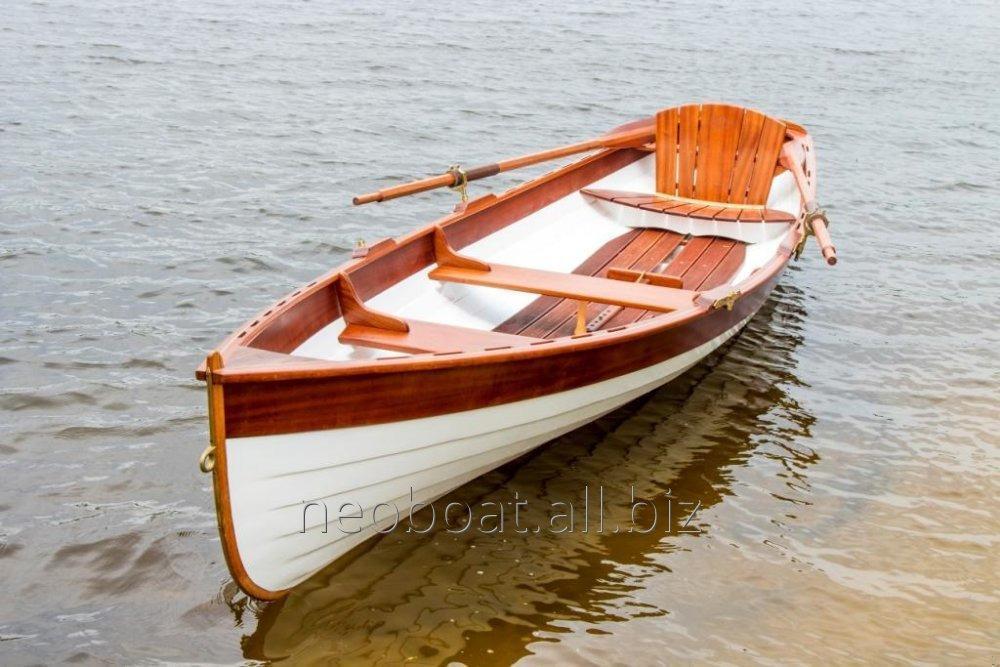 Деревянная гребная лодка Whitehall