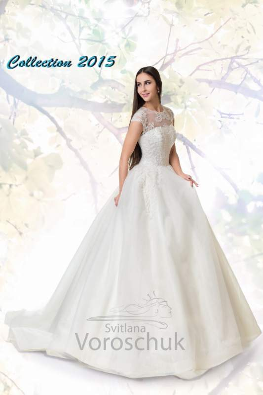 Платье свадебное, модель 15-13