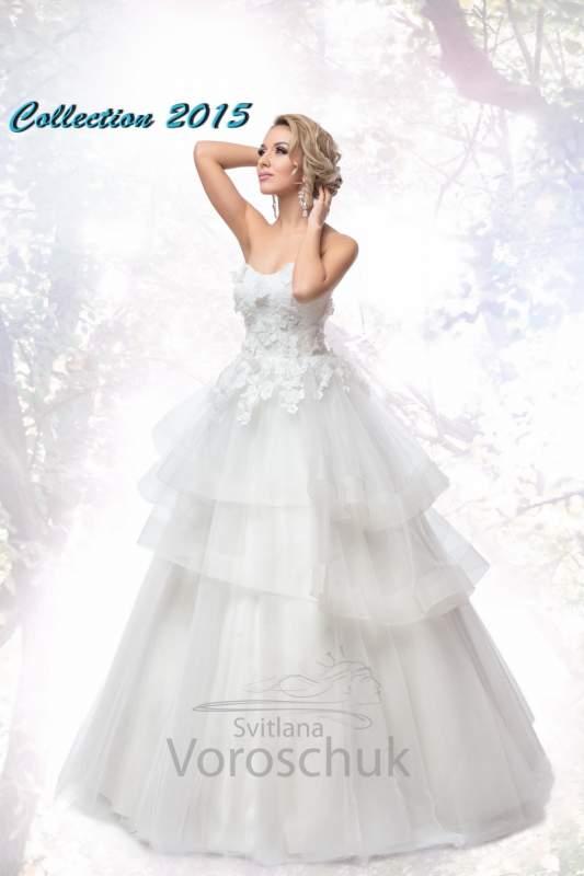 Платье свадебное, модель 15-19