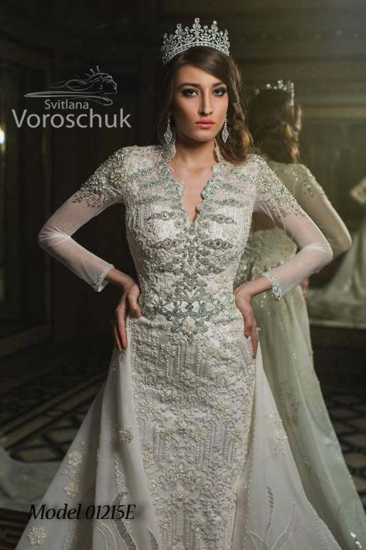 Платье свадебное, модель 15-013