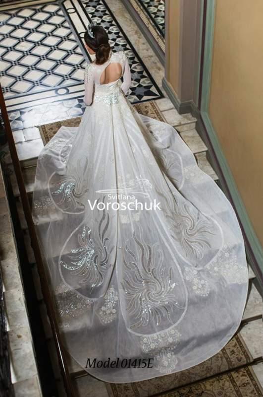 Платье свадебное, модель 15-015
