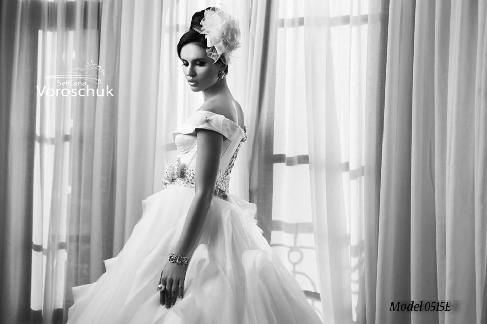 Платье свадебное, модель 15-016